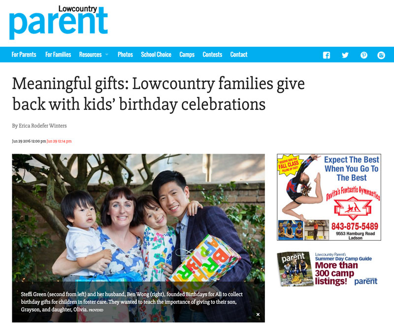 Lowcountry Parent article