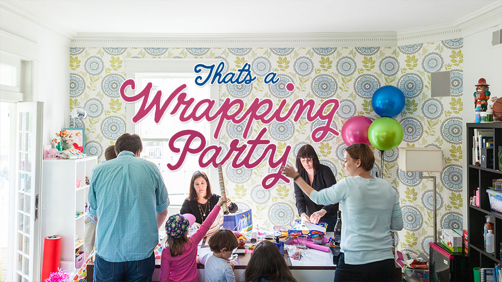Birthdays For All Wrapping Party