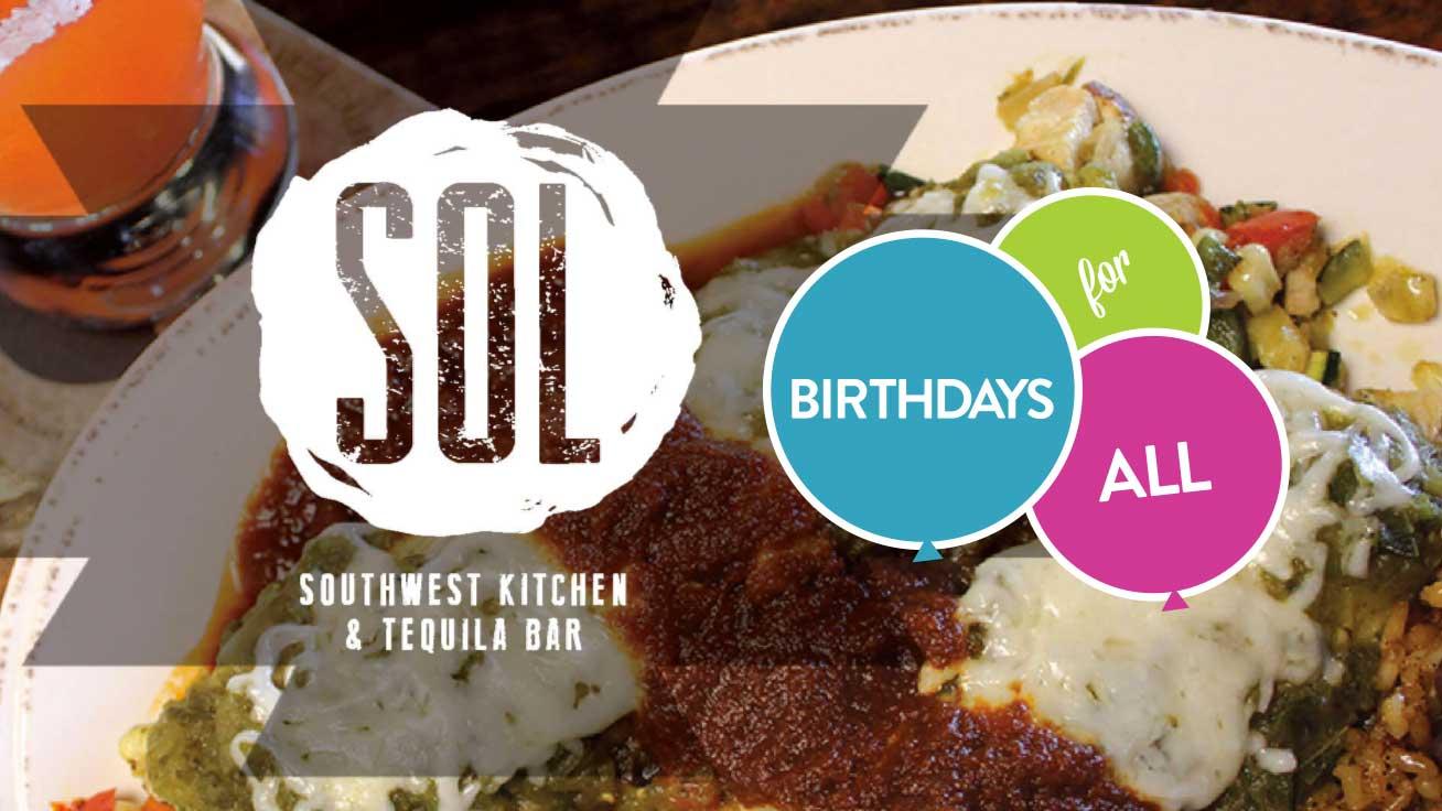 Sol Kitchen Birthdays For All